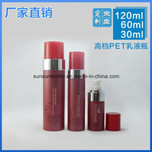 New Design Cosmetic Bottle with Pump Empty Lotion Plastics Bottles pictures & photos