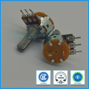 16mm Rotary Potentiometer with Switch Carbon Potentiometer B10k B100k pictures & photos