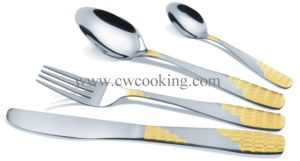 12PCS/16PCS/24PCS/72PCS/84PCS/86PCS Stainless Steel High Class Flatware Cutlery Tableware (CW-CYD837) pictures & photos