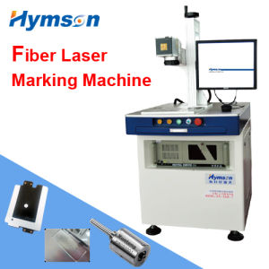 Fiber Laser Marking Machine for Mobile Phone Electronics etc. pictures & photos