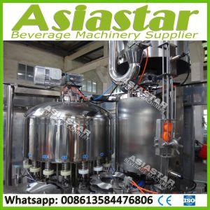 Automatic Pulp Juice Liquid Filling Machine Hot Drinks Production Line pictures & photos