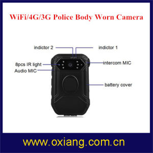 Police Body Worn Camera with WiFi / Bluetooth / 4G / 3G / GPS pictures & photos