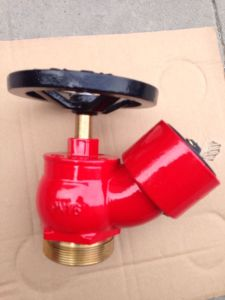 Oblique Screw Landing Valve Brass Fire Hydrant pictures & photos