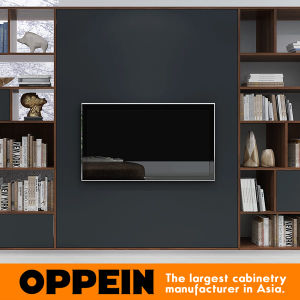 Good Oppein Black And Wood Grain TV Stand/Cabinets/ Living Room Furniture  (TV17 L02) Part 17