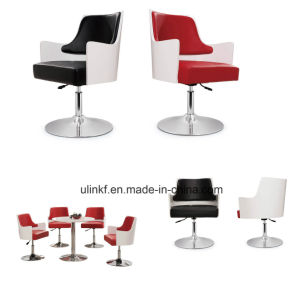 5 Star Base Swivel Bar Stools Modern Hotel Lobby Furniture (UL-JT9231) pictures & photos