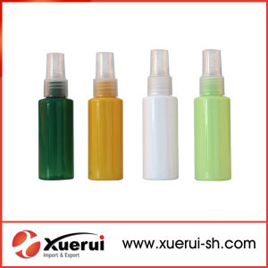 Pet Plastic Clear Cosmetic Packing Sprayer Pump Bottle pictures & photos