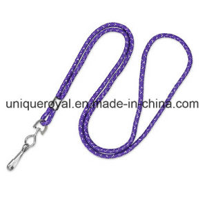 "1/8"" Blank Non-Breakaway Lanyards with Swivel Hook, Metallic pictures & photos"