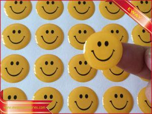 Rubber 3m Sticker Printed Round Window Sticker Vinyl Sticker pictures & photos