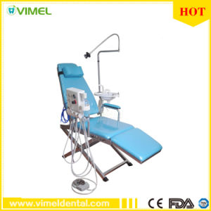 Portable Dental Patient Chair Luxury Type Folding Chair pictures & photos