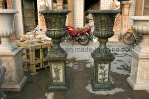 European Planter Flower Pots Marble Planter pictures & photos