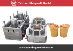 Plastic Lubricant Bucket Mould pictures & photos
