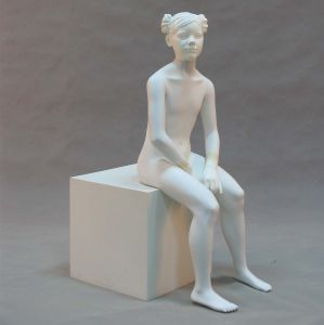 ODM Realistic Children Mannequin with Sculpture Hair
