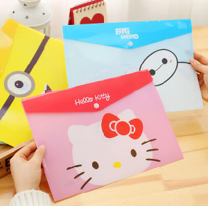 PVC A4 Test Paper Bag Information Bag Document Bag pictures & photos