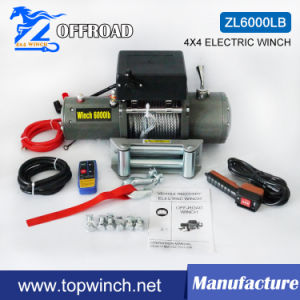 4X4 Recovery Electric Winch 12V 6000lb pictures & photos