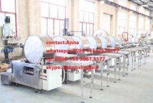 Automatic Spring Roll Sheets Machine/Samosa Pastry Machine/Injera Machine/Lumpia Wrapper Machine (real factory) 2017 New Design/Top Rank pictures & photos
