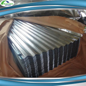 Mild Steel Zinc Coated Roofing Sheet Corrugated Galvalume / Galvanized Metal Roofing Sheet
