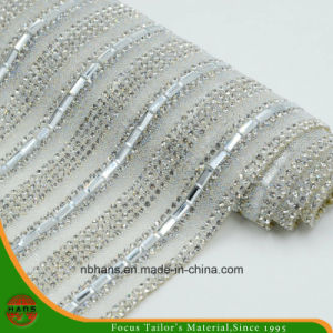 New Design Heat Transfer Adhesive Crystal Resin Rhinestone Mesh (YH-001) pictures & photos