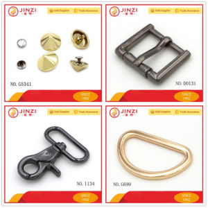 Quality Zinc Alloy Handbag Hardware Fittings, Metal D Rings and O Rings pictures & photos