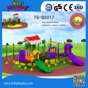 2017 Hot Sale Kids Commerical Cartoon Series Outdoor Playground with Slide pictures & photos