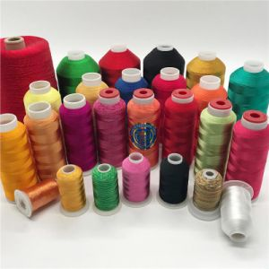 Shanfa 100% Viscose Embroidery Thread 150d/2 2000mts pictures & photos