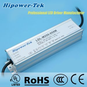 250W Waterproof IP65/67 Outdoor Timing Control Power Supply LED Driver pictures & photos