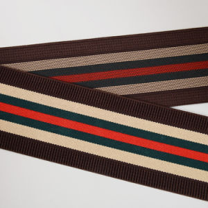 Fashion Multicolor Striped Woven Elastic Band pictures & photos