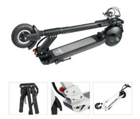 Inflatable Tire 8 Inch Kick Scooter with Different Battery Capacity