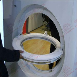 Round/Oval Shape Half Opening UPVC Window pictures & photos
