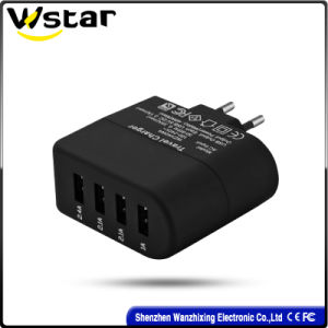 2016 Newest 4 Port Charger Travel Adapter with USB Ports pictures & photos