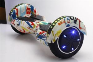 8 Inch Motor with Cool LED Lights Electrical Smart Scooter