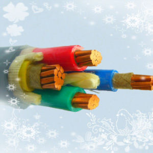 Cu/Al Conductor 0.6/1kv XLPE Insulated 3X1.5mm2 Power Cable pictures & photos