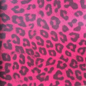 Leopard Synthetic PU Leather for Phone Case Gift Package Hx-0729 pictures & photos