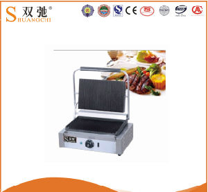 China Supplier Griddle Commercial Electric Contact Grill Panini Grill Steak pictures & photos