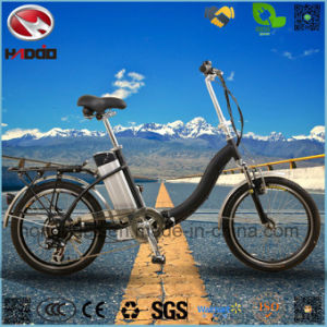 250W Lithium Battery Electric Folding Bike for Sale pictures & photos