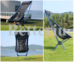 High Back Folding Lawn Chair with Neckrest pictures & photos