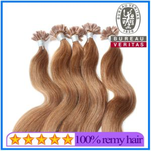 Light Brown U-Tip Hair Extension pictures & photos