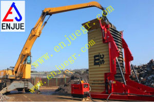 Port Use Hydraulic Telescoping Container Tilter pictures & photos