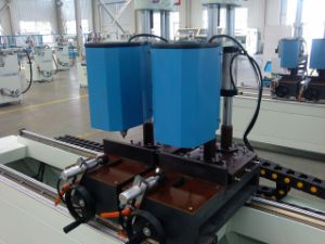 Colored Plastic Window Four Head Seamless Welding Machine pictures & photos