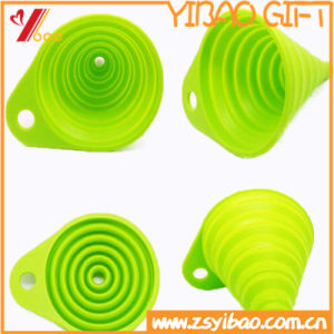 Sauce & Oil Bottle Silicone High Quality Funnel Ketchenware Easy to Clean (YB-HR-140) pictures & photos