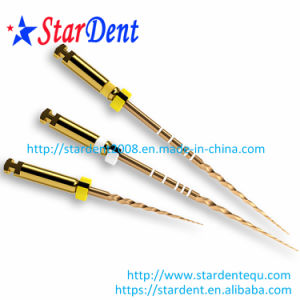Dental Dentsply Protaper Gold Files for Endodontic Treatment pictures & photos