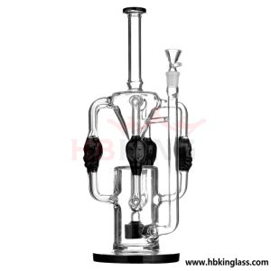 Manufacturer Price 18inch 1.4kg Water Pipe Glass Smoking Pipe pictures & photos