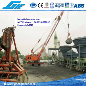 5 Ton Electric-Hydraulic Rubber Tyred Port Crane pictures & photos