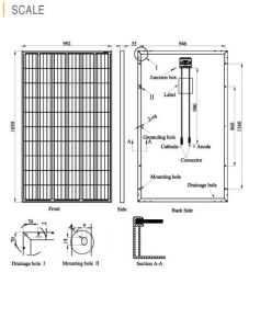 TUV Ce Approved Poly Solar PV Module (250W-275W) German Quality pictures & photos