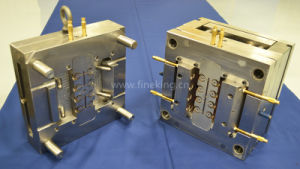 Custom Plastic Injection Molding Parts Mold Mould for Fluorescent Lighting Fixtures