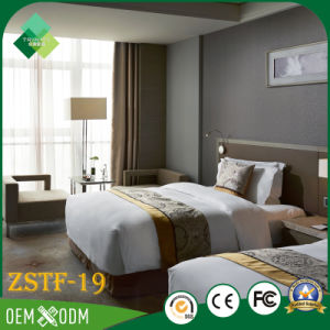 Latest Double Bed Designs Bedroom Furniture for Standard Room (ZSTF-19) pictures & photos