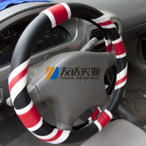 PVC Car Steering Wheel Cover (UJ-8373) pictures & photos