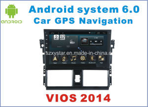 New Ui Android 6.0 Car GPS for Toyota Vios with with Car Navigation pictures & photos