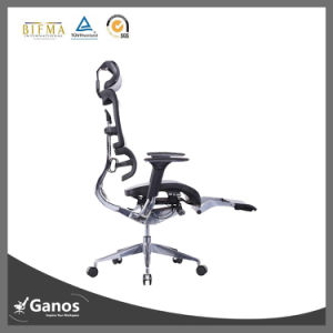 Full Mesh Solid Alyminum Chrome Base Flexible Office Chairs pictures & photos