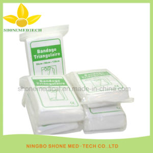 Dressing and Care for Material Triangular Bandage pictures & photos