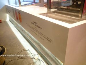 Corian Acrylic Solid Surface Coffee Counter pictures & photos